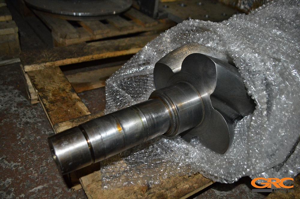 Дефект ротора винтового блока