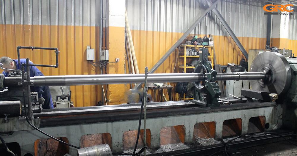 Изготовление вала на токарном станке ДИП-500