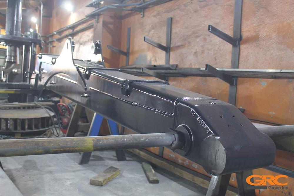 Стрела форвардера Ponsse K100+ после ремонта