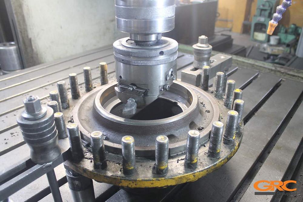 Восстановление ступиц аэродромного тягача SCHOPF F396
