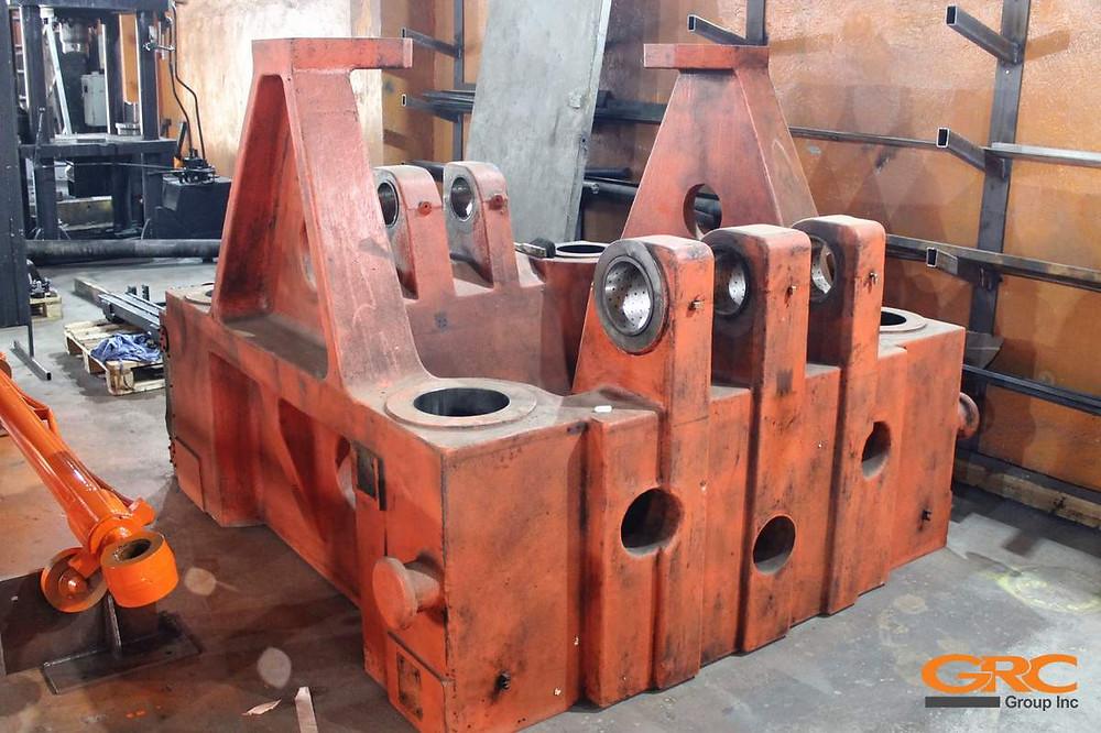 Восстановление подвижной плиты термопластавтомата Haitian HTF 1250X