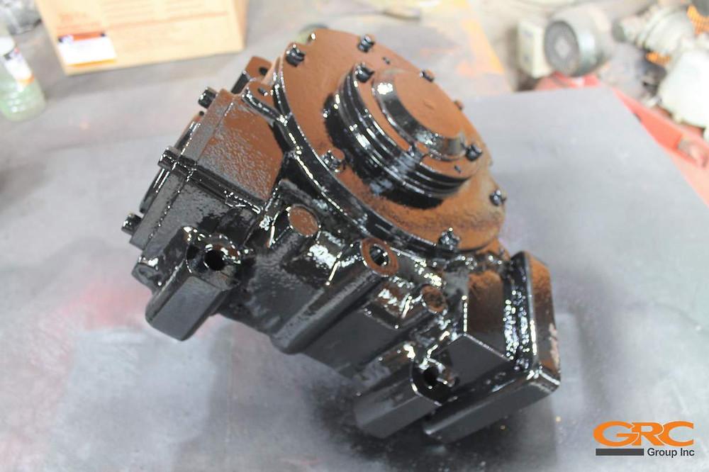 бурильно-крановая установка Aichi D706 после ремонта