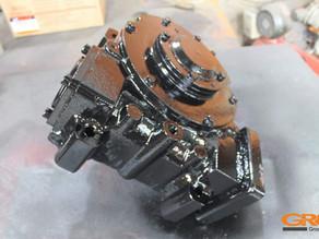 Ремонт поворотного редуктора буровой установки AICHI D706