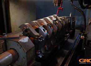 Ремонт ротора дробилки ZERMA серии GSH