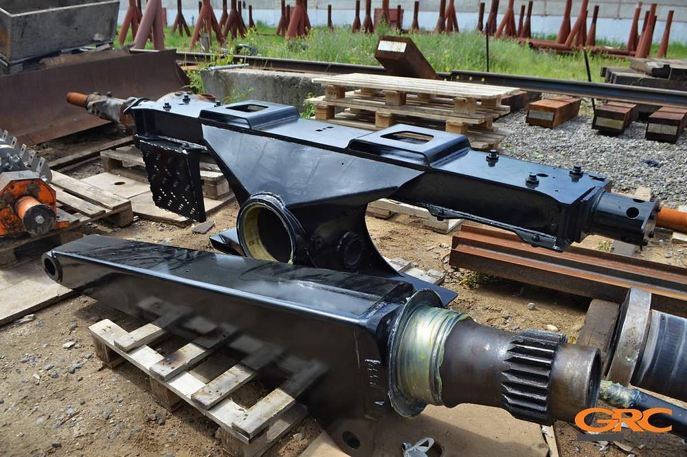 Ремонт гидроманипулятора для леса