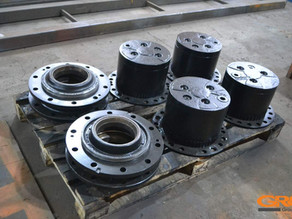 Ремонт ступиц колесного экскаватора Hitachi ZX180W