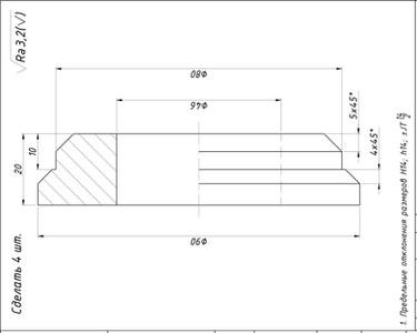 Изготовление втулок бочки АБС