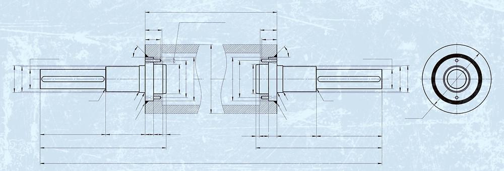 Ремонт роторов от измельчительных машин