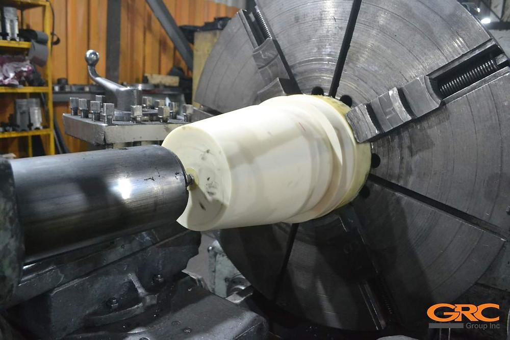 изготавливаем контрольный ниппель конусовидной формы из капролона