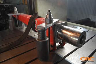 Проводим механическую обработку колонны КМУ