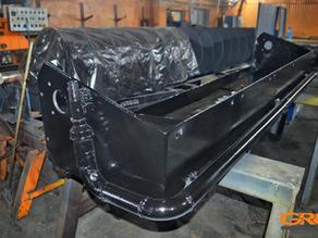 Ремонт ковша земснаряда LWT MudCat 727