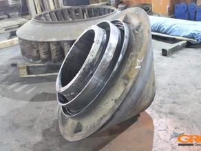 Восстановление посадочного места конуса дробилки Nordberg HP 200