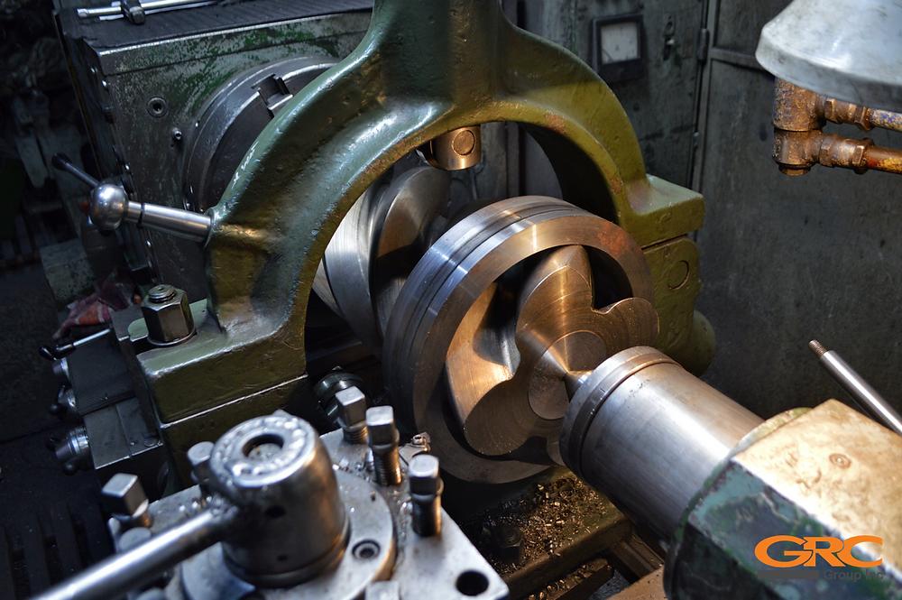Ремонт ротора винтового блока