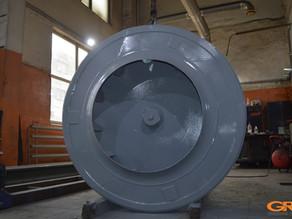 Замена диска рабочего колеса дымососа