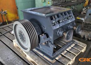 Ремонт роторной дробилки полимеров AVIAN 46-60