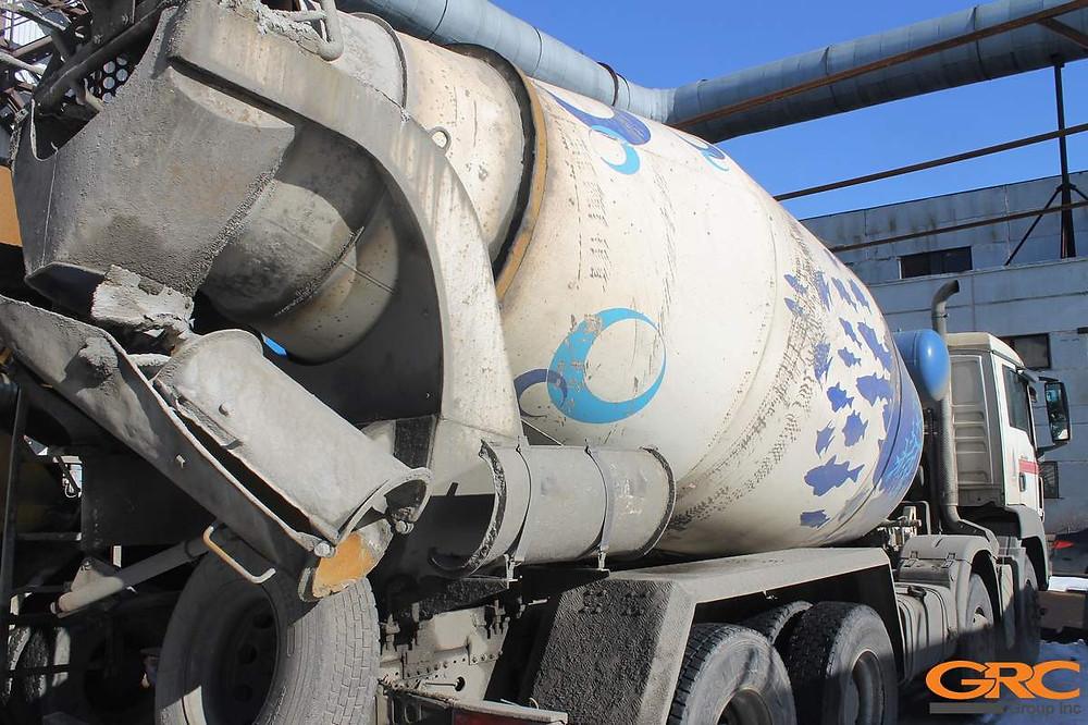 Автобетоносмеситель на базе грузового автомобиля MAN