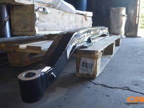 Ремонт передней балки и поворотных кулаков MAN TGL [81.44101.0187]