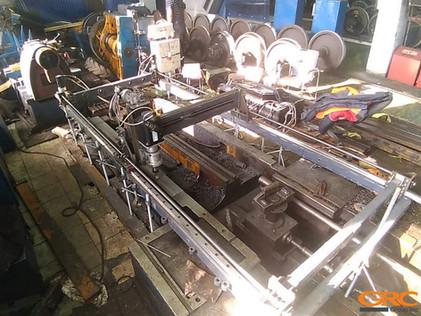 Ремонт колесотокарного станка