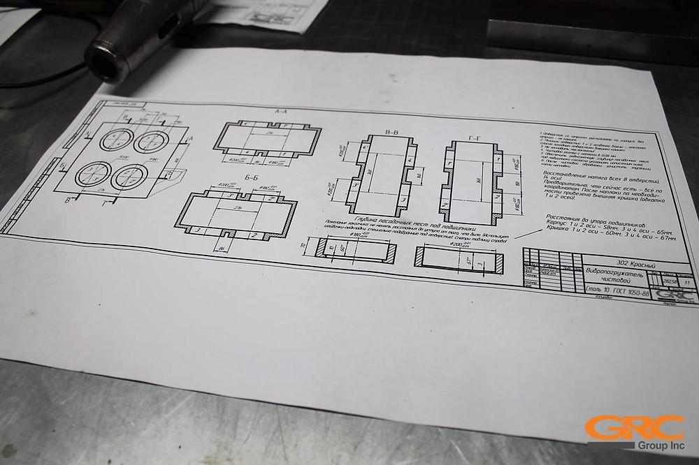 Технология восстановления осей, ремонта модульных вибропогружателей