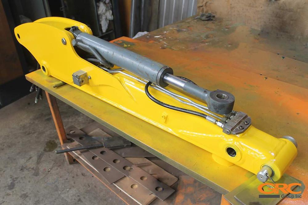 Рукоять мини-экскаватора Wacker Neuson ET24 после ремонта