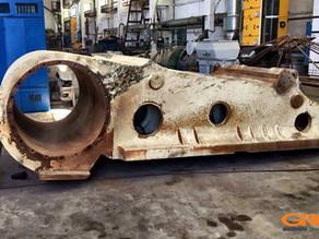 Ремонт щековой дробилки Metso - Nordberg C200