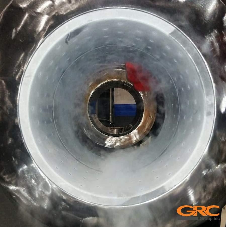 Запрессовка втулок при помощи жидкого азота