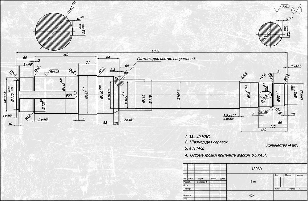 технология усиления конструкции осей