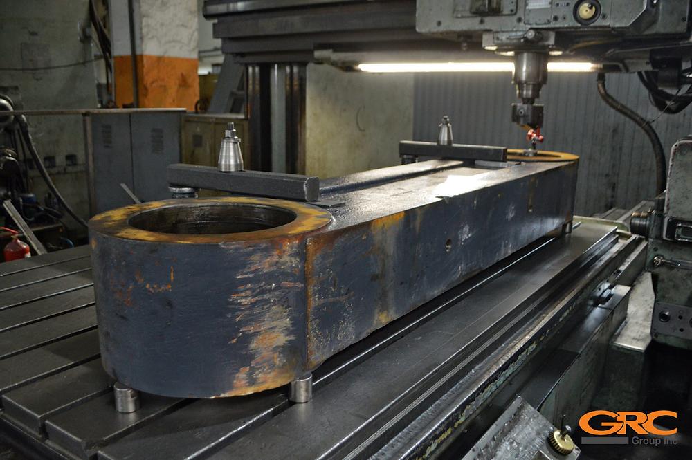 снимаем изношенную поверхность металла