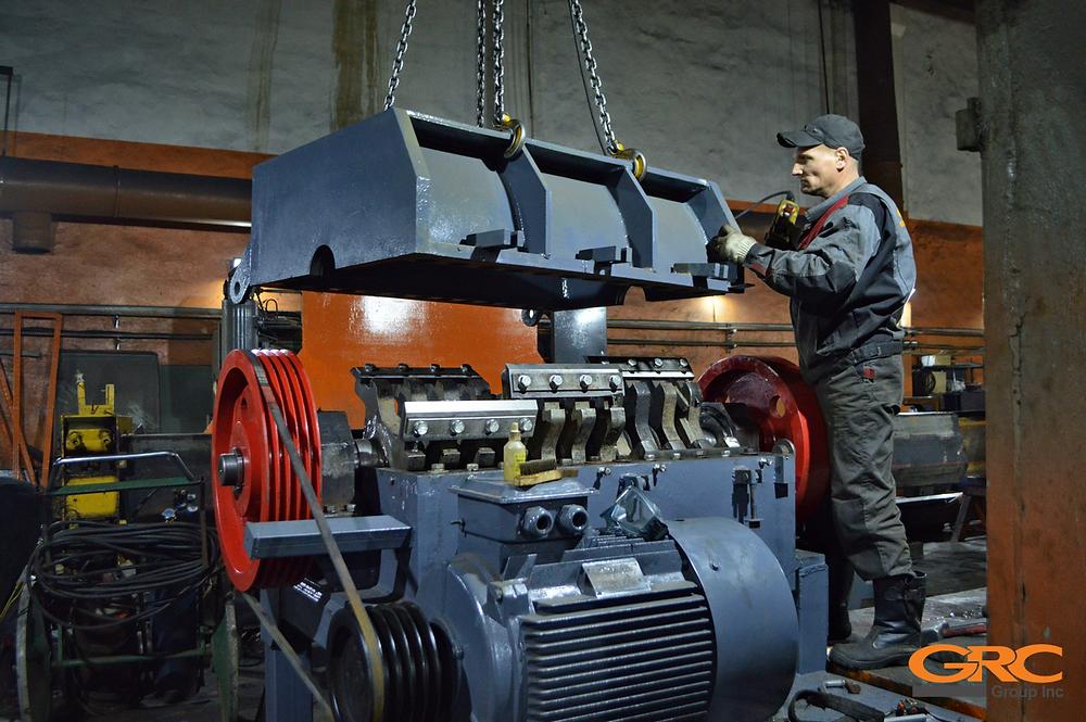 Капитальный ремонт дробилки ПЭТ (Crusher S-1200)