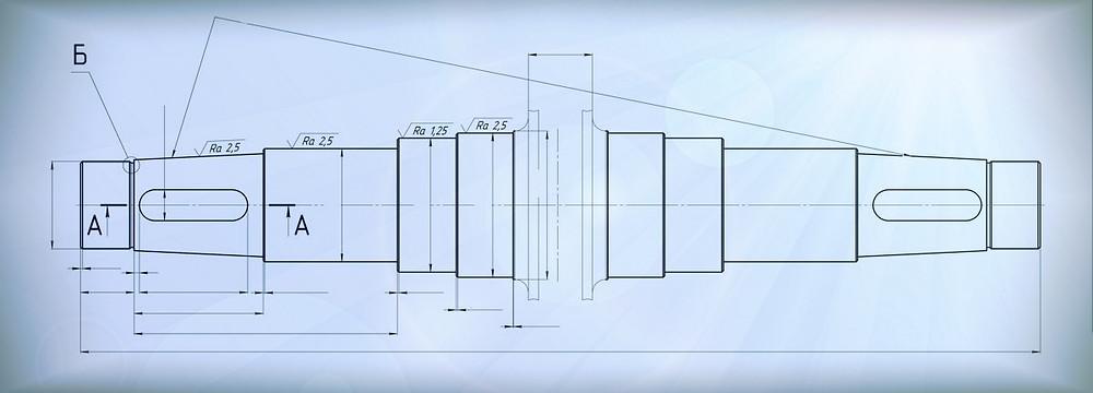 Ремонт роторов измельчителей пластика КД