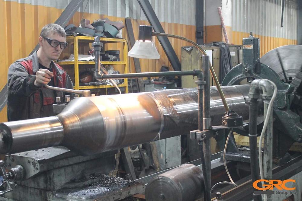 Ремонт вала крыльчатки главного вентилятора солодовенного производства