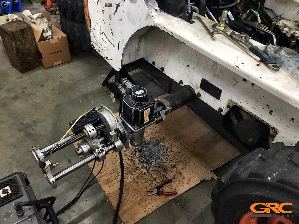 Ремонт мини-погрузчика Bobcat 753 на выезде