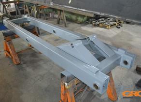 Ремонт рамы ножничного подъемника WEISS SAB C 200