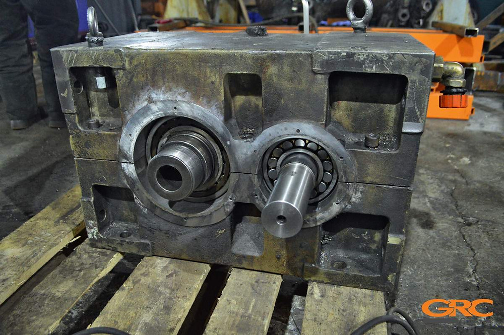 Ремонт редуктора экструдера Zambello Riduttori 2 (S.R.L)