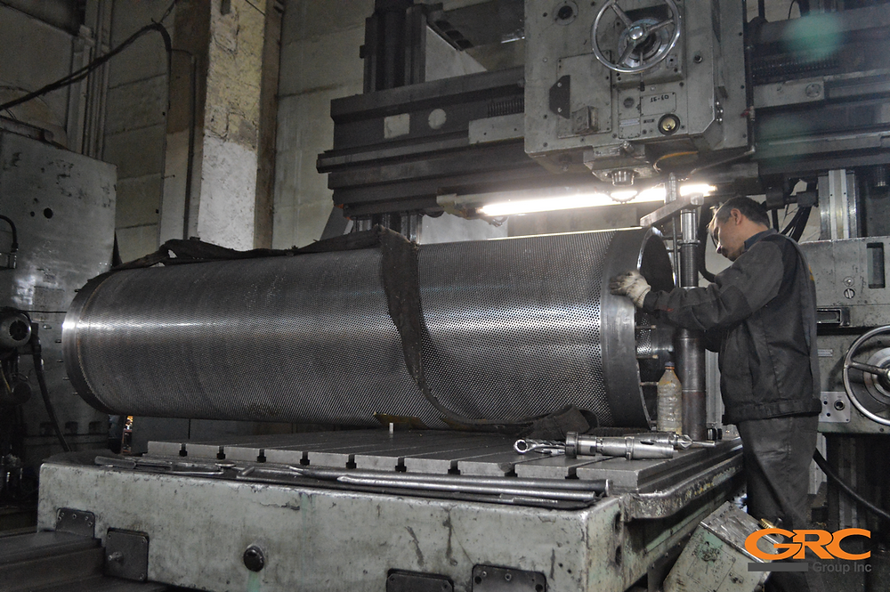 Восстановление гауч вала бумагоделательной машины