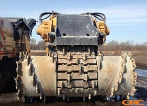 Капитальный ремонт фрезерного барабана траншеекопателя VERMEER Т1255