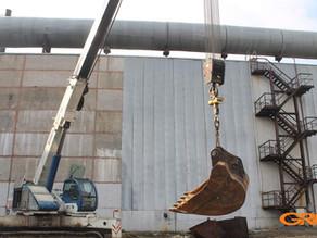 Капитальный ремонт стрелы и гидроцилиндров гусеничного крана TCM RTC-70