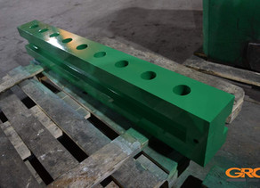 Изготовление монтажной траверсы гидравлического вибромолота PVE 2316 VM