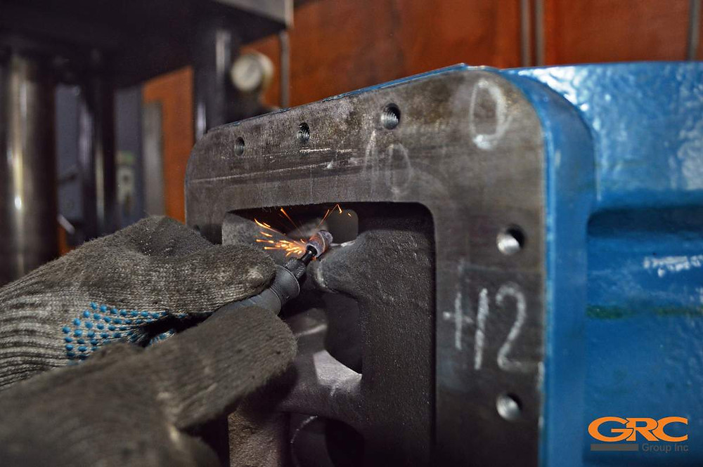 Ремонт трещины вакуумного насоса
