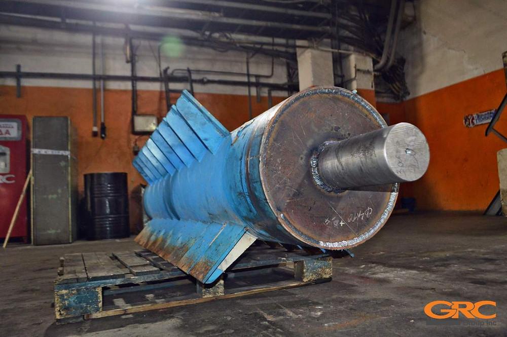 Сборка ротора полимеров