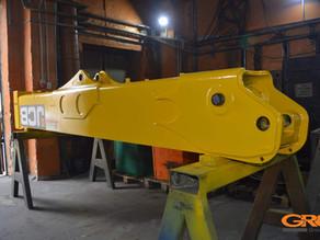 Ремонт стрелы телескопического погрузчика  JCB (Джисиби)