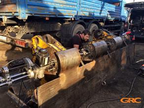 Восстановление соосных отверстий мобильно-расточным станком