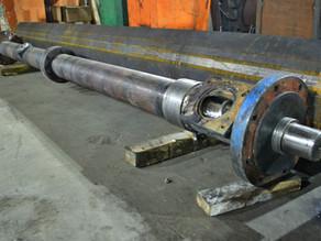 Восстановление шнек-пары экструдера Ø-120 L-4000