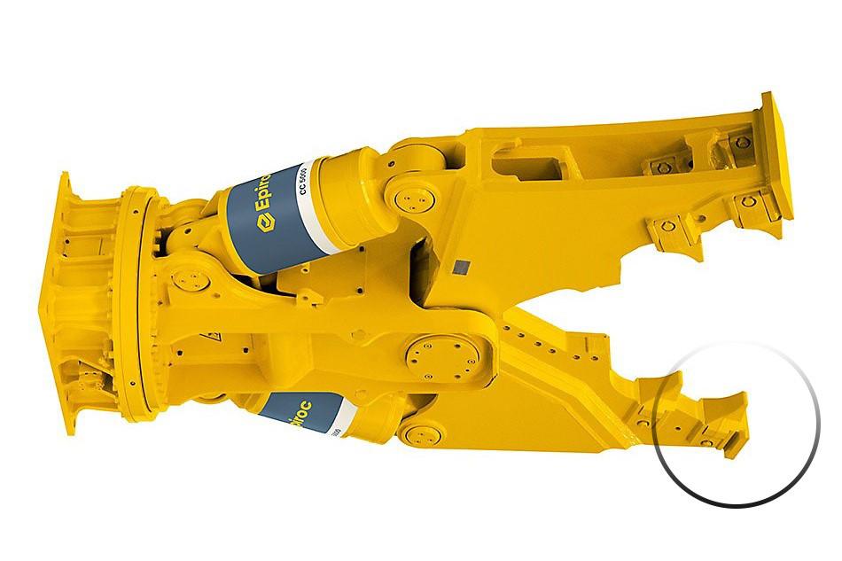 Ремонт гидроножниц Epiroc CC5000