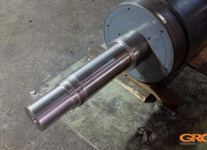 Восстановление промышленных валов методом изготовления и замены хвостовиков