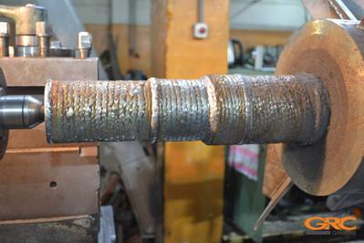 Восстанавливаем хвостовики ротора