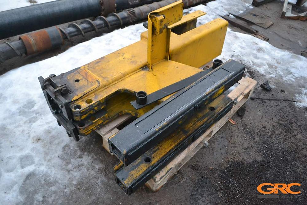 Каркас молота сваебойной машины ORTECO до ремонта