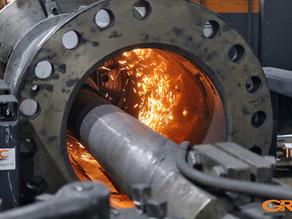 Восстановление внутренней поверхности гильзы гидравлического серводвигателя ГЭС