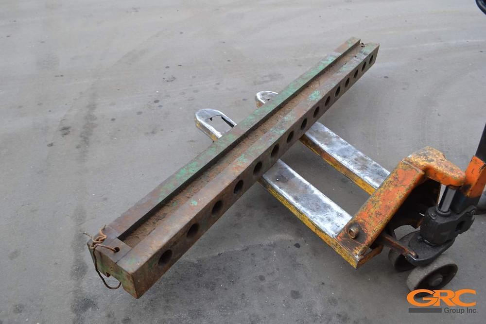 изготовление монтажной траверсы гидравлического вибромолота (вибропогружателя) PVE 2316 VM