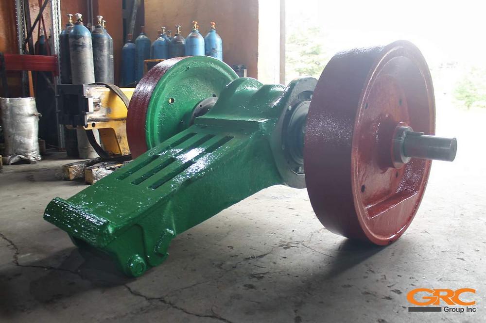 Дробильная установка SVEDALA TRF после ремонта